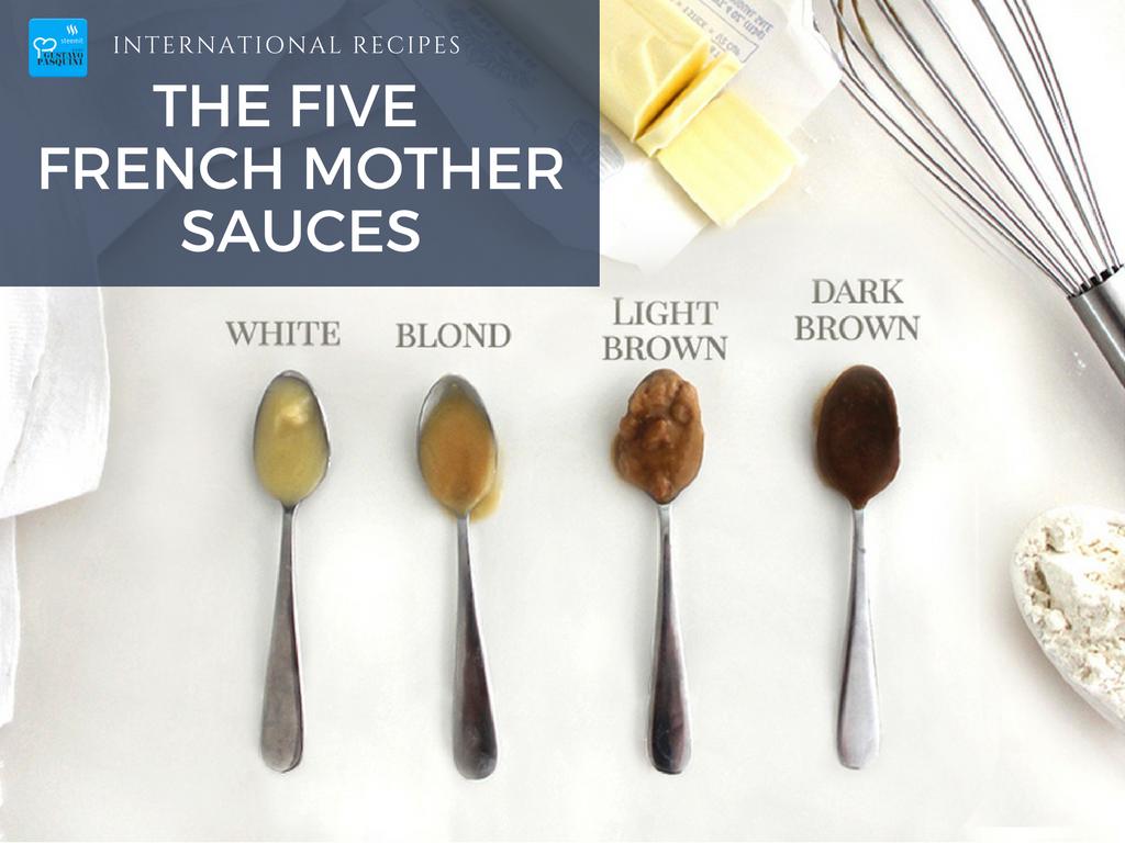 The five mother sauces b chamel sauce international for Auguste escoffier ma cuisine book